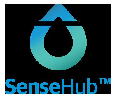 Logo SenseHub aktivitetsmåler