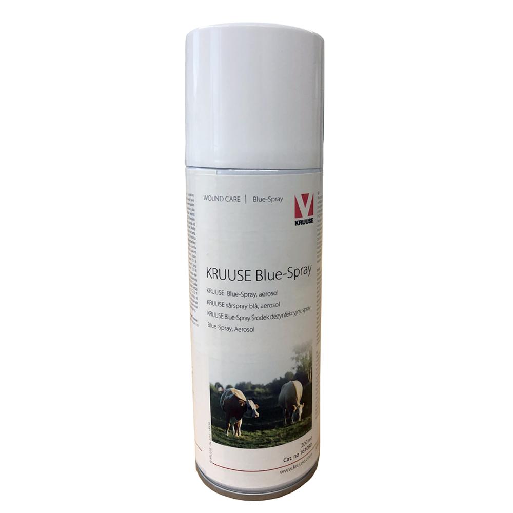 blue spray häst